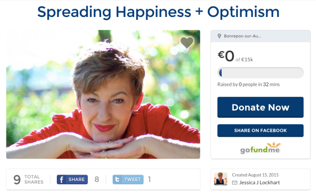 Sharing Happiness and Optimism